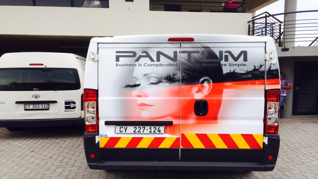 Vehicle signage Cape town